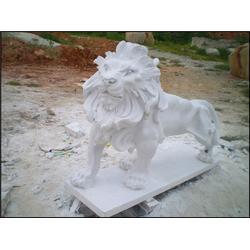 河北别墅门口石狮子,欧式石狮子样式图片