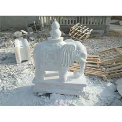 酒店门口摆放石雕大象,北京石雕大象,旺通雕塑(图)图片