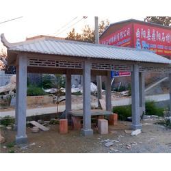 吉林石亭子,石雕凉亭,园林摆件二层石亭子图片