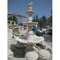 旺通雕塑(多图)、河南大型雕刻石头喷泉图片