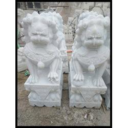墓地专用石雕小狮子_天津石雕小狮子_石头狮子图片
