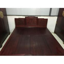 北京红木大床厂家|大床|北京家家红(查看)图片