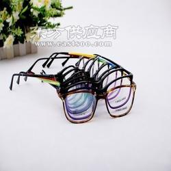 品牌复古眼镜架韩国光学眼镜架重量轻 色泽好图片