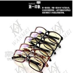 复古金属眼镜框近视镜框男眼镜厂一件代发图片