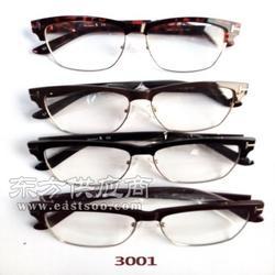 复古金属大框花纹边眼镜框3447 文艺原宿圆形框架镜图片