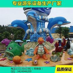 室外游乐场大型游乐设备厂激战鲨鱼岛水上娱乐设施图片
