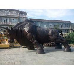 大型铜牛|铜牛|鑫鹏铜雕(查看)图片