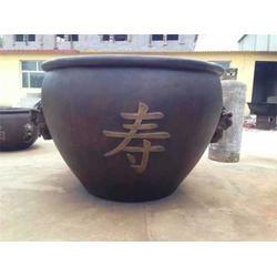宁波铜缸-狮子头铜缸-鑫鹏铜雕(优质商家)图片