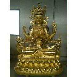 铸铜佛像厂、鑫鹏铜雕(在线咨询)、青海铸铜佛像图片