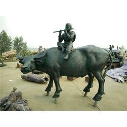 赤水铜牛|鑫鹏铜雕|加工铜牛图片