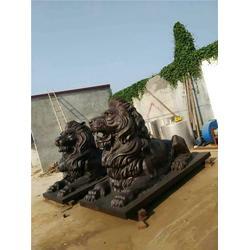 铜雕狮子,铜雕狮子厂家,鑫鹏铜雕厂家图片