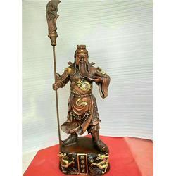 大型铜关公 鑫鹏铜雕 长沙铜关公图片