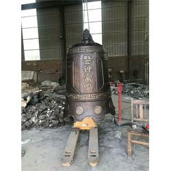 呼伦贝尔铜钟-鑫鹏铜钟铸造-寺庙铜钟图片