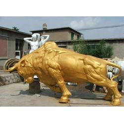 大型铜牛-南昌铜牛-鑫鹏铜雕(查看)图片
