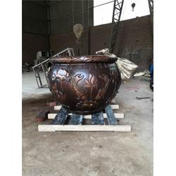 西安铜缸-铜缸厂家-鑫鹏铜雕(优质商家)图片