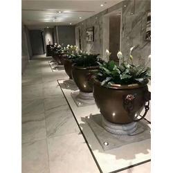 鑫鹏铜雕厂 80公分铜缸-重庆铜缸图片