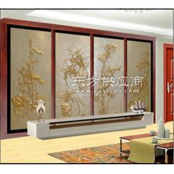 砂岩浮雕背景墙设计定做图片