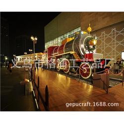 大型火车模型哪里有-大型火车模型-格浦复古模型品质保证图片