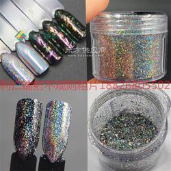 供应galaxy holo flake镭射不规则碎片进口美甲效果颜料指甲艺术图片