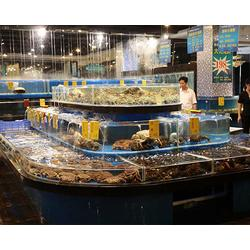 山西海鲜池 海之星水族公司(在线咨询) 设计海鲜池图片