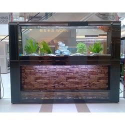 订做实木鱼缸、海之星水族公司(在线咨询)、实木鱼缸图片