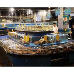海鲜池制作,山西海之星水族公司,海鲜池图片
