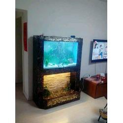 客厅 鱼缸摆放,客厅鱼缸,海之星水族公司(查看)图片