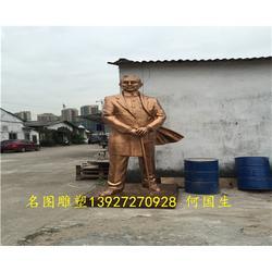 古铜玻璃钢人物雕塑、名图雕塑厂家、广东玻璃钢人物雕塑图片