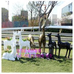 玻璃钢动物造型-汕头玻璃钢动物-名图雕塑厂家图片