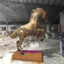 玻璃钢动物雕塑-名图雕塑厂家-大型玻璃钢动物雕塑图片