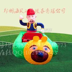 小孩子玩的充气电瓶车哪里有图片