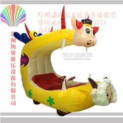 新款儿童充气电瓶车 广场游乐充气电瓶车图片