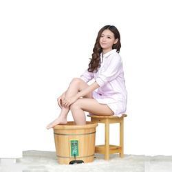 泡脚木盆绿色环保、水流花开卫浴(在线咨询)图片