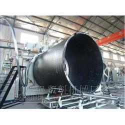 HDPE中空缠绕管生产线图片