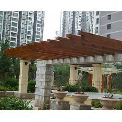 室内防腐木花架-滁州防腐木花架-合肥旺发图片