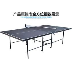多功能乒乓球台、乒乓球台、双子星体育用品(多图)图片