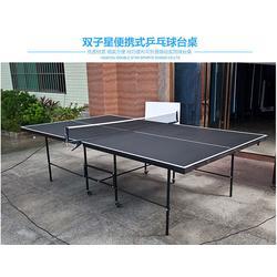 移动式乒乓球台,河北乒乓球台,双子星体育用品图片
