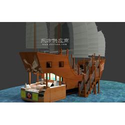 手工制作陆地景观船陆地景观船,陆地景观船订购图片