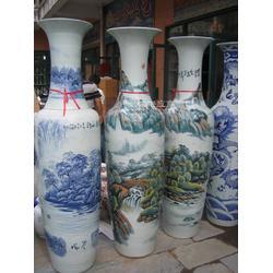 陶瓷大花瓶 现代简约客厅落地大花瓶纯手工雕刻花瓶厂家供应可定制图片