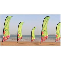 沙滩旗 注水旗-广州飘彩(在线咨询)注水旗图片