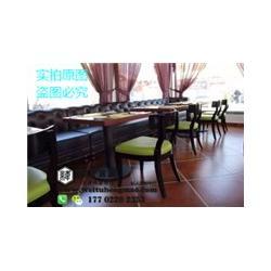 津美式咖啡厅餐桌椅 欧式咖啡厅餐桌椅 中式咖啡厅餐桌椅图片