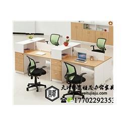 办公桌椅 单人屏风办公桌 屏风办公桌厂家图片