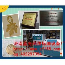 厂家直销金属标牌机蓝光同茂_沧州标牌机_电机标牌机图片