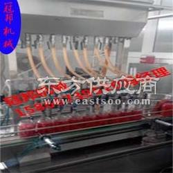 玻璃水灌装机 防冻液灌装机洗洁精灌装机冠邦机械厂家图片