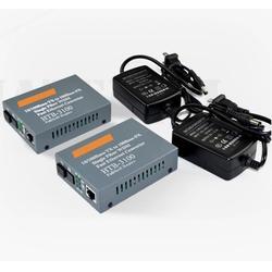 佛山单纤光纤收发器,飞秒通信,佛山光纤收发器图片