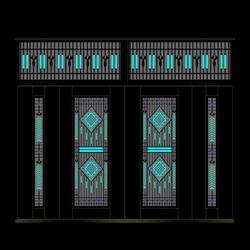 钢木门,博兴钢木门厂家,居思安门业(优质商家)图片
