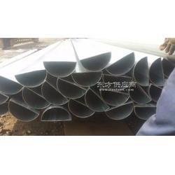 镀锌D形直缝焊管、薄壁镀锌带D形管生产厂家图片