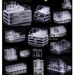 新款首饰收纳盒 四抽屉式亚克力透明塑料饰品收纳首饰盒图片