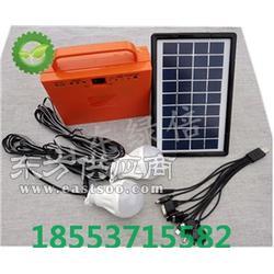 绿倍便携式太阳能发电机组5W照明光伏发电小系统图片