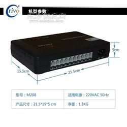 厂家冰河 交换机设备 电话交换机 M208图片